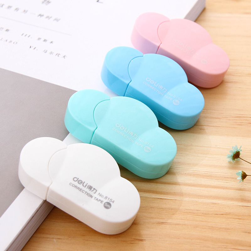 Cute Cloud Shape Correction Tape Kawaii 5M Candy Colors s