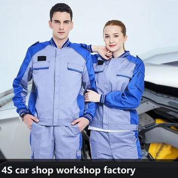 spring summer Work Clothing Men Women Working Coveralls Auto repair car Workers Uniforms factory workshop Overalls Plus Size 4XL