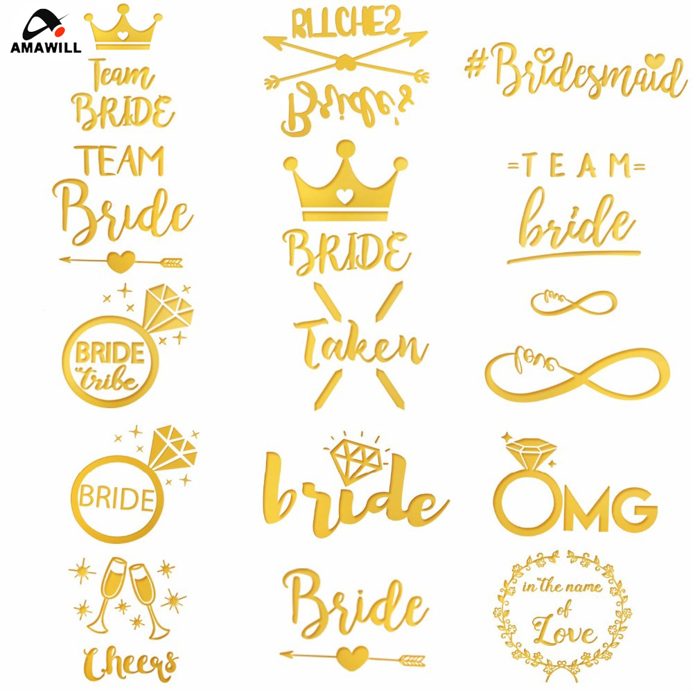 stickers Bride Tribe stickers Hen party stickers Bridal Stickers