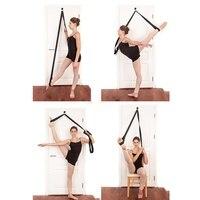 Спорт Йога регулируемая дверь для поднятия ноги новый ремень для йоги Натяжной ремень с хлопком мульти-функция пояс для йоги веревка