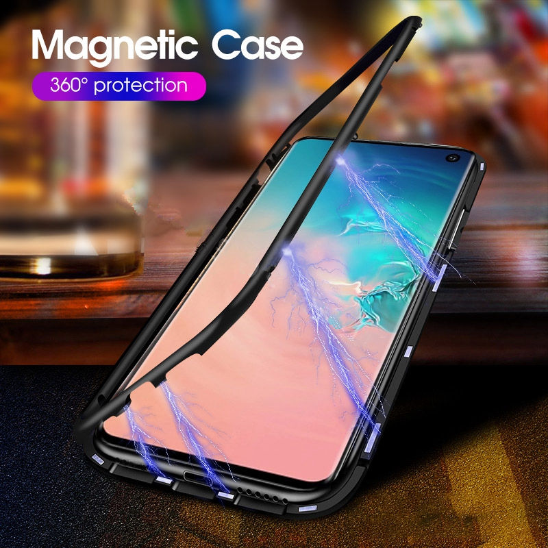Luxury-Magnetic-Adsorption-Phone-Case-For-Samsung-Galaxy-S10-S8-S9-S10-Plus-Note-8-9 (2)