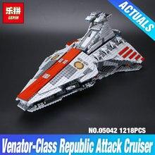 Лепин 05042 звездные войны серия республики боевой крейсер набор строительные блоки кирпичи образовательные детские день diy 8039 подарок