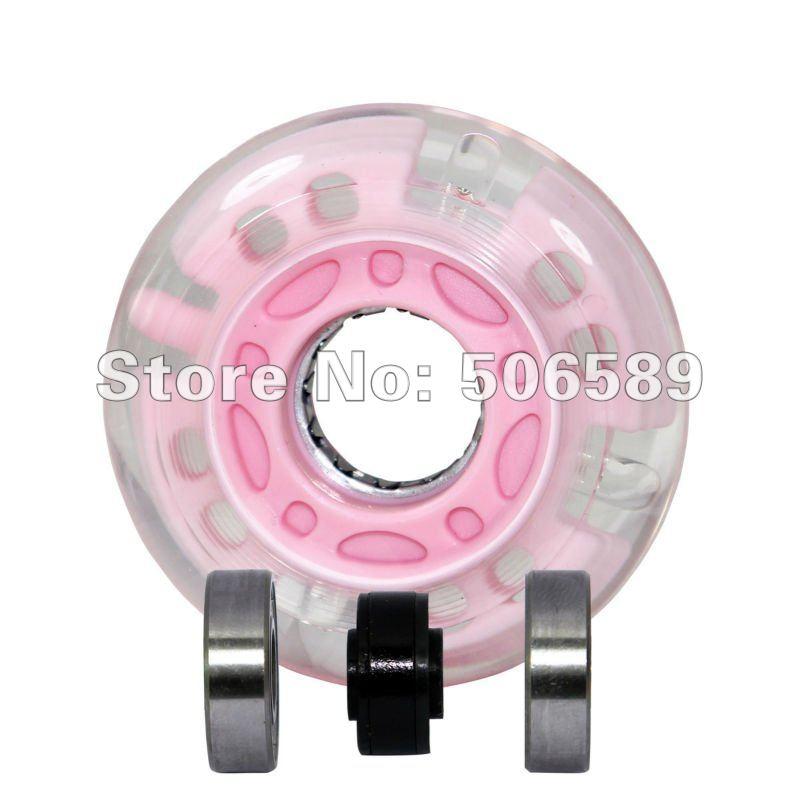 Flashing Wheel PU Wheel For Cougar Brand Free Shipping 8 Pcs/pack