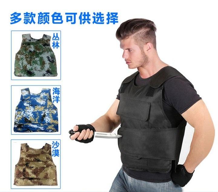 Security guard vest bulletproof vest CS field** airsoft adults cs field game skeleton warrior skull paintball mask