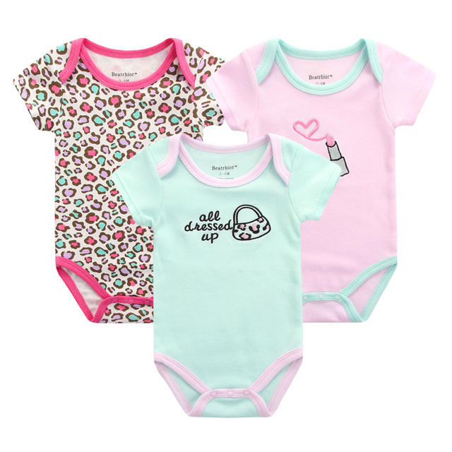 a52307bf4 Summer Baby Girl Boy Rompers Baby Clothes Overalls for Newborn Short ...
