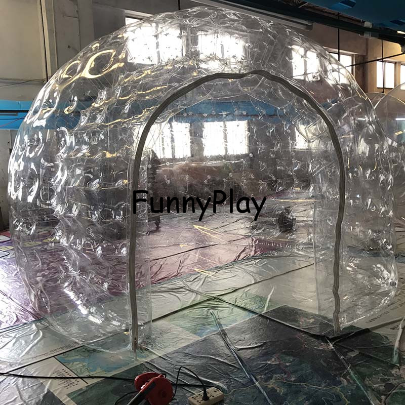 inflatable Sauna c&ing tentno inflatable one time inflatable double layer bubble tentsinflatable tents for trade shows-in Tents from Sports ... & inflatable Sauna camping tentno inflatable one time inflatable ...