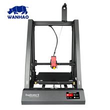 2018 New 300*300*400mm Big Size WANHAO factory desktop FDM D9 300 3D printer With Auto Leveling and resuming printing