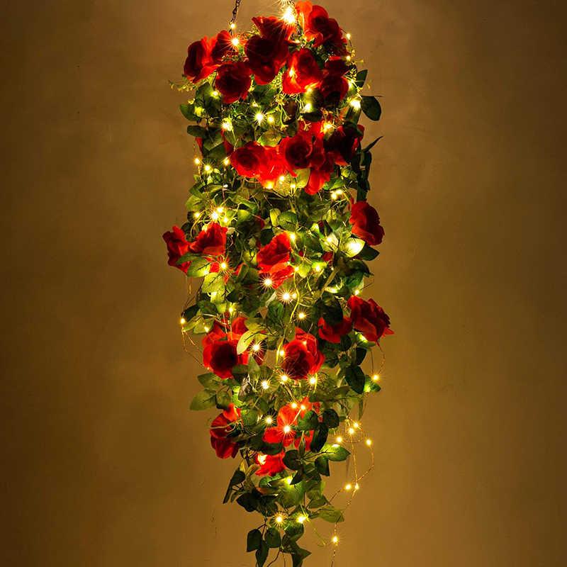 Светодиодная серебряная проволока, гирлянды, уличная Рождественская гирлянда, 1 м, 2 м, 3 м, 5 м, 10 м, сказочные огни, гирлянда для Хэллоуина, украшение дома, светодиодный светильник
