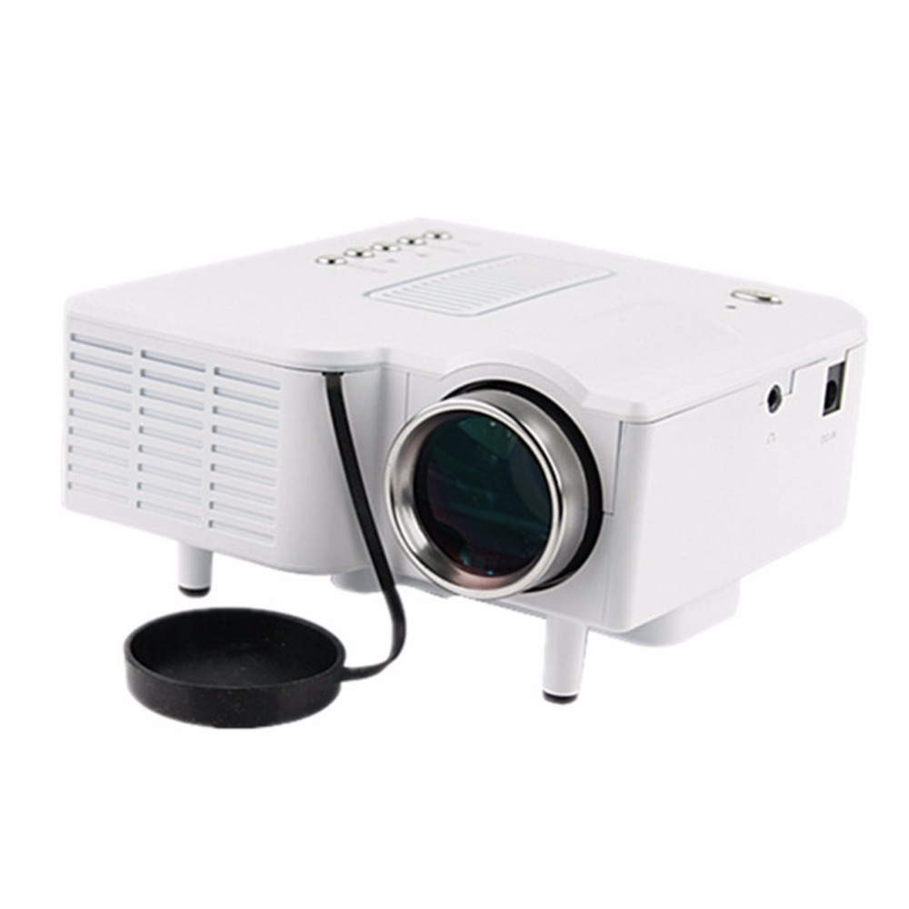 Led projector projector uc28 mini portable pocket mini pc for Portable projector for laptop