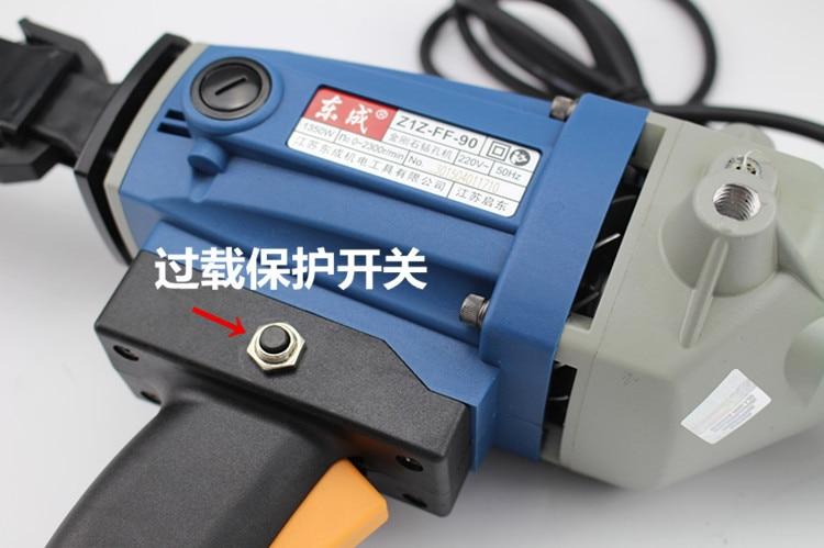 Wiertnica diamentowa 90 mm ze źródłem wody (ręczna) Wiertarka do - Elektronarzędzia - Zdjęcie 5