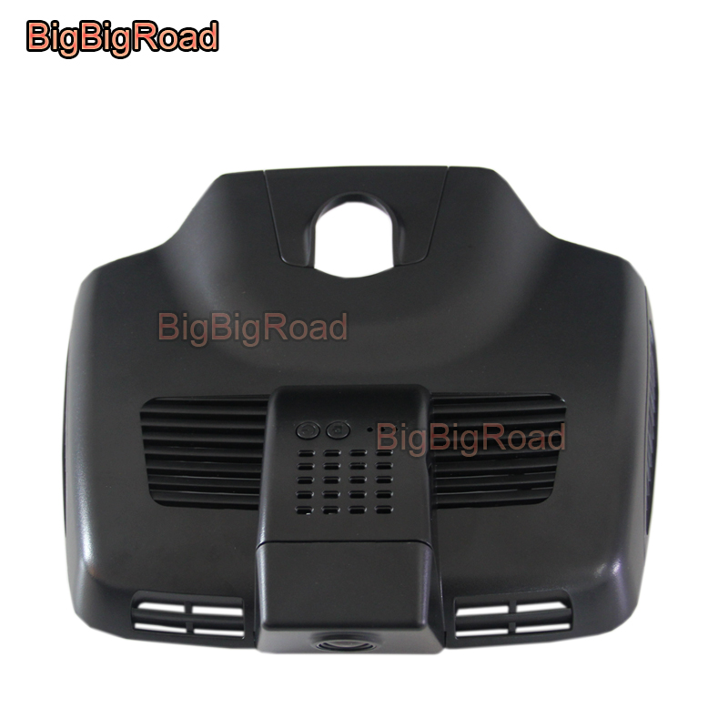 BigBigRoad Car wifi DVR Video Recorder Dash Cam For Mercedes Benz E Class E200 E300 E300 E320L W213 2016 2017 2018 high Version razor e300 серый