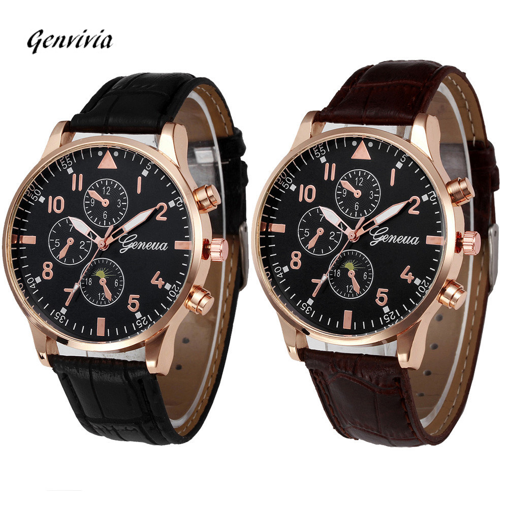Retro Design Leather Band Analog Alloy Quartz Wrist Watch Mens Watches Top Brand Luxury Digital Relogio Masculino Business Clock new arrive luxury woman mens watch retro design pu leather band analog alloy quartz wrist watch relogio masculino 2016 hot