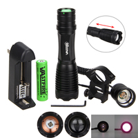 10w 940nm IR LED Zoomable Night Vision Infrared Radiation Hunting Flashlight Torch To be used with Night Vision Device