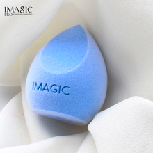 IMAGIC Cosmetic Puff Microfiber Fluff Surface  Velvet Makeup Sponge Powder Foundation Concealer Cream Make Up Blender