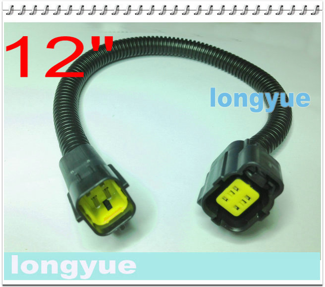 US $14.44 |longyue 2pcs NGK 25610 Oxygen Sensor OE Type Extension Harnesses on