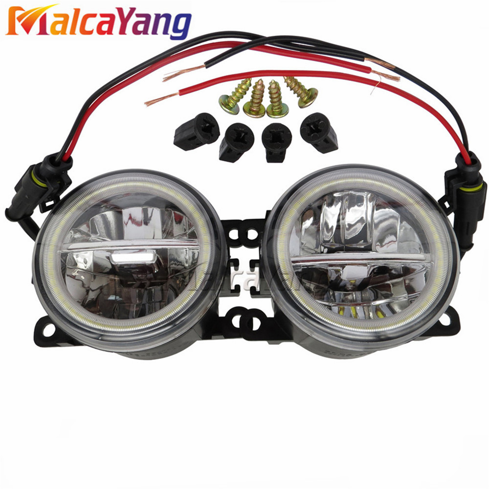 2pcs Led Front Fog Lights For Mitsubishi Colt Czc Convertible Rg Power Window Wiring 06 09 H11 Car Styling Round Bumper Lamps 12v In Light Assembly From