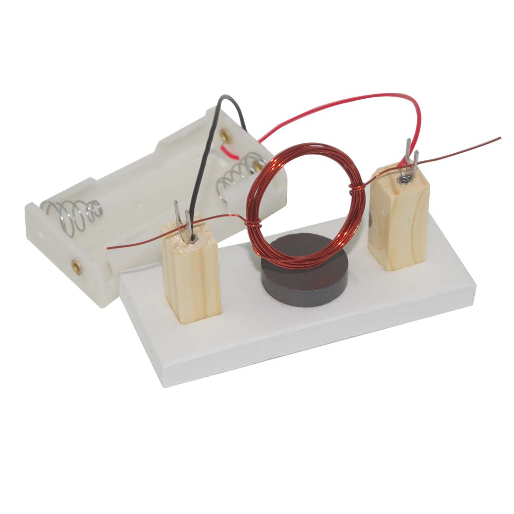 How to build a dc motor from scratch for Simple toy motor project