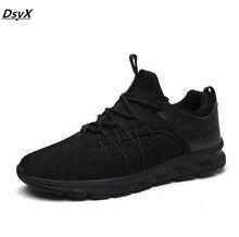 New Brand Men Flat Casual Shoes Breathable Fashion Sport Black Shoes Men Zapatillas Deportivas Hombre Mens Trainers Men's Shoes