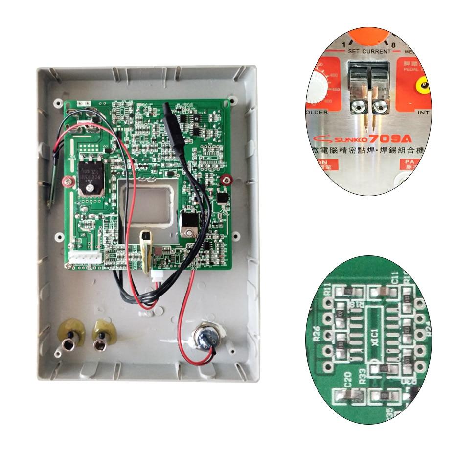 SUNKKO 709A Spot Welder Circuit board For 18650 Battery Spot Welding Machine 709A Spot Welding Circuit