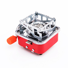Gas Burner Camping Stove Tourist Equipment Lighter Outdoor Cooker