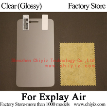Clear Glossy Screen Protector Guard Cover protective Film For Explay Air LTE