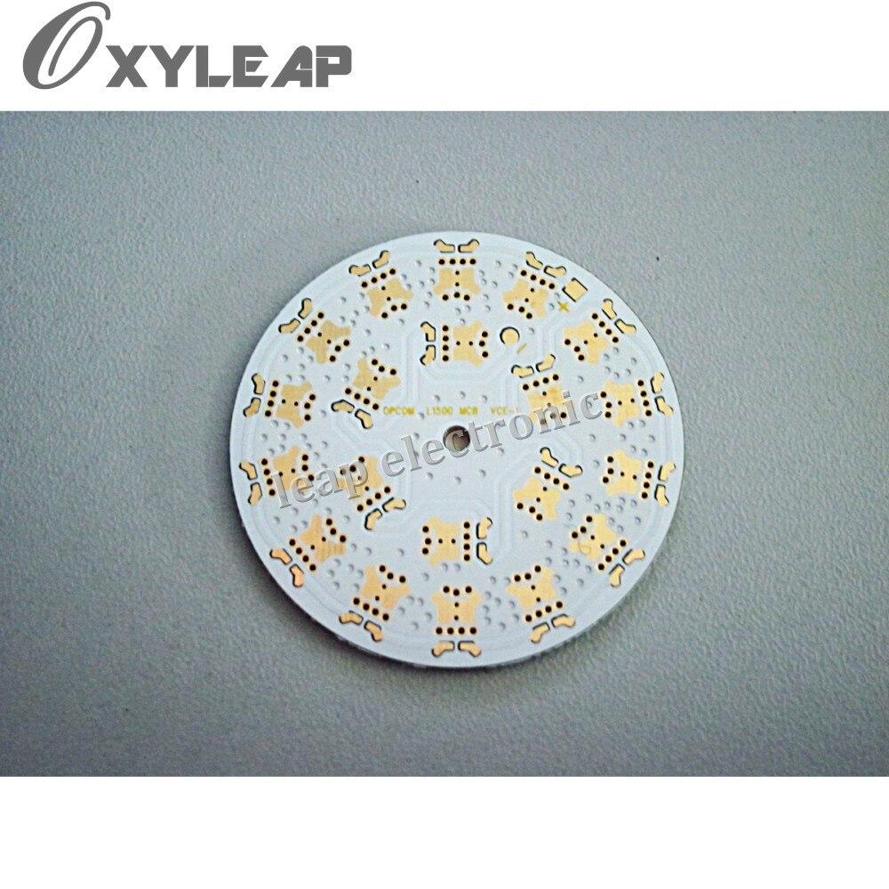 Placa de aluminio led/prototipo pcb/tablero de prototipado