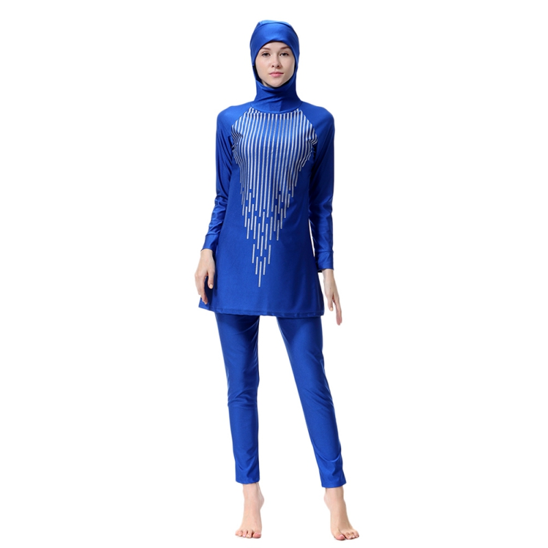 Full Coverage Humble Beach High Quality Muslim Swimwear with swim hat