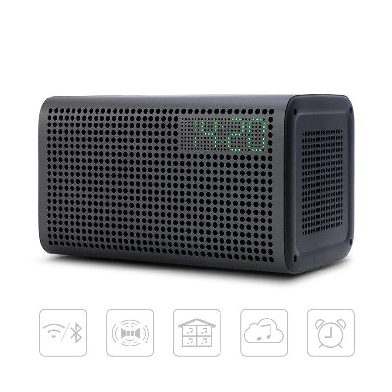 GGMM E3 Bluetooth Spalte Drahtlose Bluetooth Lautsprecher WiFi HiFi Musik Stereo Lautsprecher für die Computer mit LED Alarm Lautsprecher
