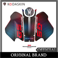 KODASKIN Motorcycle for BMW R1200GS ADV 2018 2019 3D Applique Tank Pad Sticker Decal Emblem GRIPPER STOMP GRIPS EASY Red