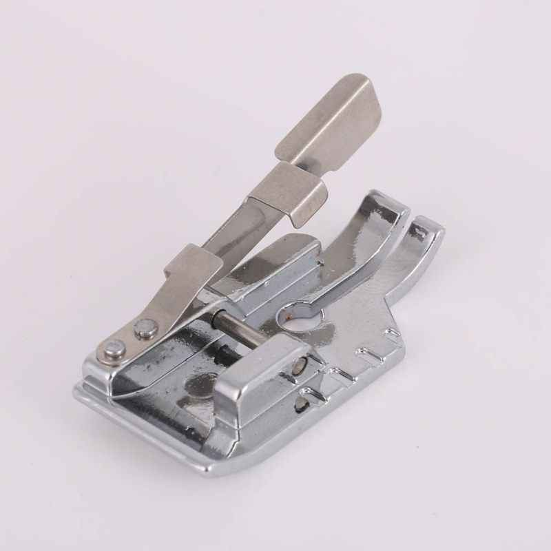 1/4 Inch Guide Silver White Metal Snap On Quilting Patchwork Foot Sewing Machines Sewing Tools 2018
