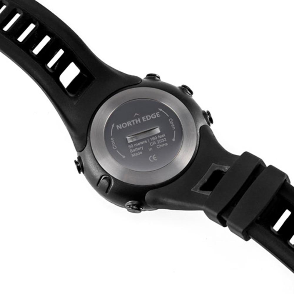 Männer Sport Digitaluhr Laufen Wandern Smart Armbanduhr Höhenmesser ...