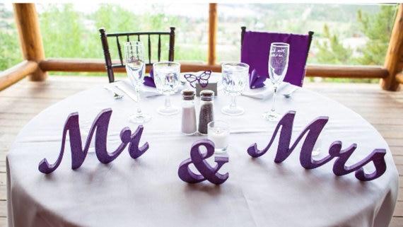 Aliexpress.com : Buy Mr. & Mrs. Wedding Table Decoration