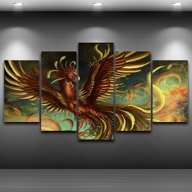 Artistic Print Painting On Canvas HD Printed Home Decor Framed Wall Art Up Pictures Spray Oil