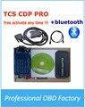 Новый VCI TCS CDP 2015 R3 Авто OBD2 Диагностический Инструмент TCS CDP С Bluetooth Для Автомобили/Грузовики/Generic 3in1