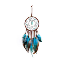 Indian heirs catching dreams hanging ornaments wind chimes make up dream net birthday gift for girlfriend