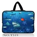Акулы ноутбук сумка Из Неопрена Планшетный Чехол Для 10 11.6 13.3 15.4 17.3 дюймов Laptop Sleeve Для Macbook Air/Pro/Retina