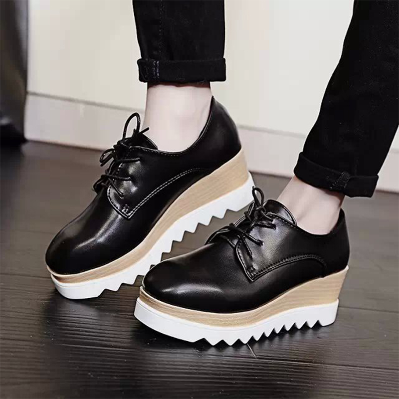 Aliexpress.com : Buy 2015 New women's High Platform Shoes Creepers ...