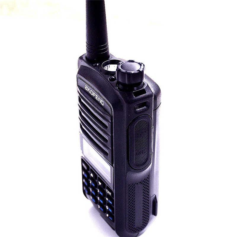 100% Оригинал Baofeng UV-7R Двухканальные рации Dual Band UHF/УКВ Портативный двухстороннее Радио приемник полиция ручной ВЧ Любительское transciver рация радиостанции рация портативная