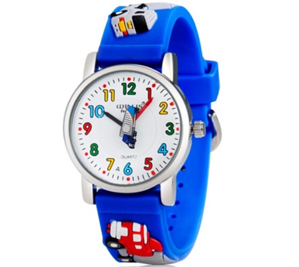 10M Waterproof 3D Cartoon Animal Design Analog Wrist Watch Children Clock / Kid Quartz Wrist Watches