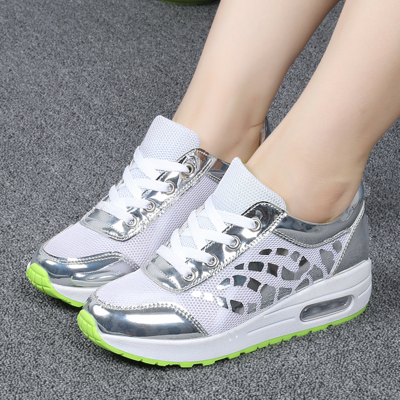 Trainers Women Casual Shoes Summer Style Outdoor Breathable Low Top Shoes Woman Flat Heels Sport Ladies Shoes Size 35-40 ZD71 (8)