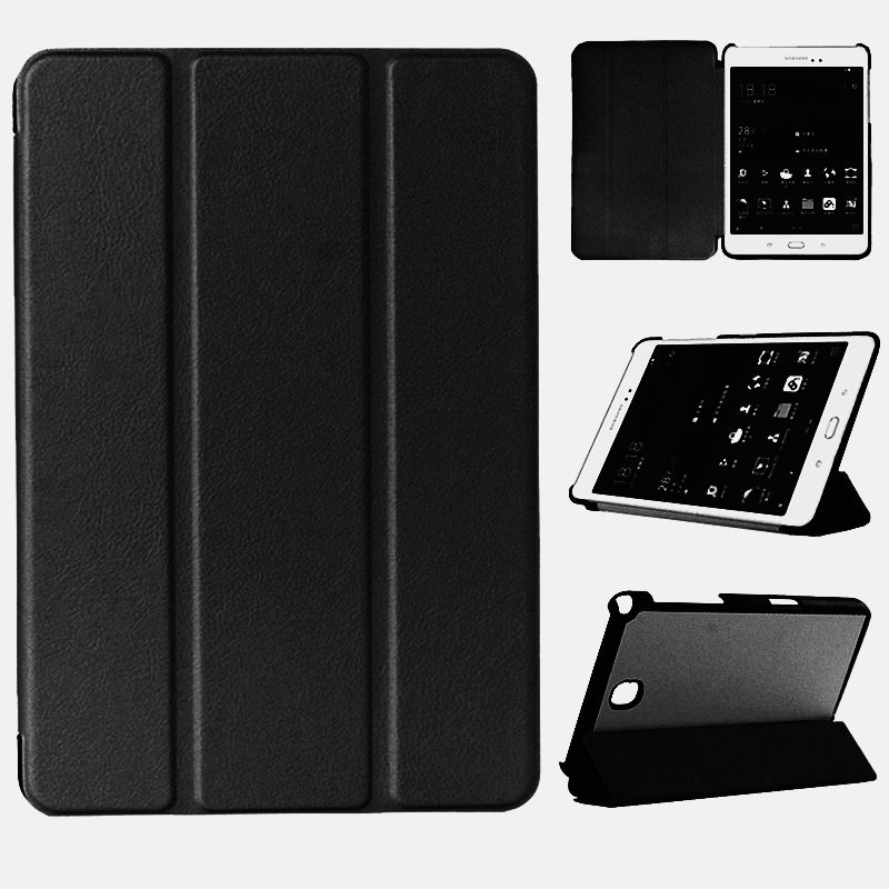 Case Cover For Samsung Galaxy Tab A 8.0 T350 T351 T355 SM- T355C P350 P355 Tablet Covers Leather Taba8.0 Protector Protective 8