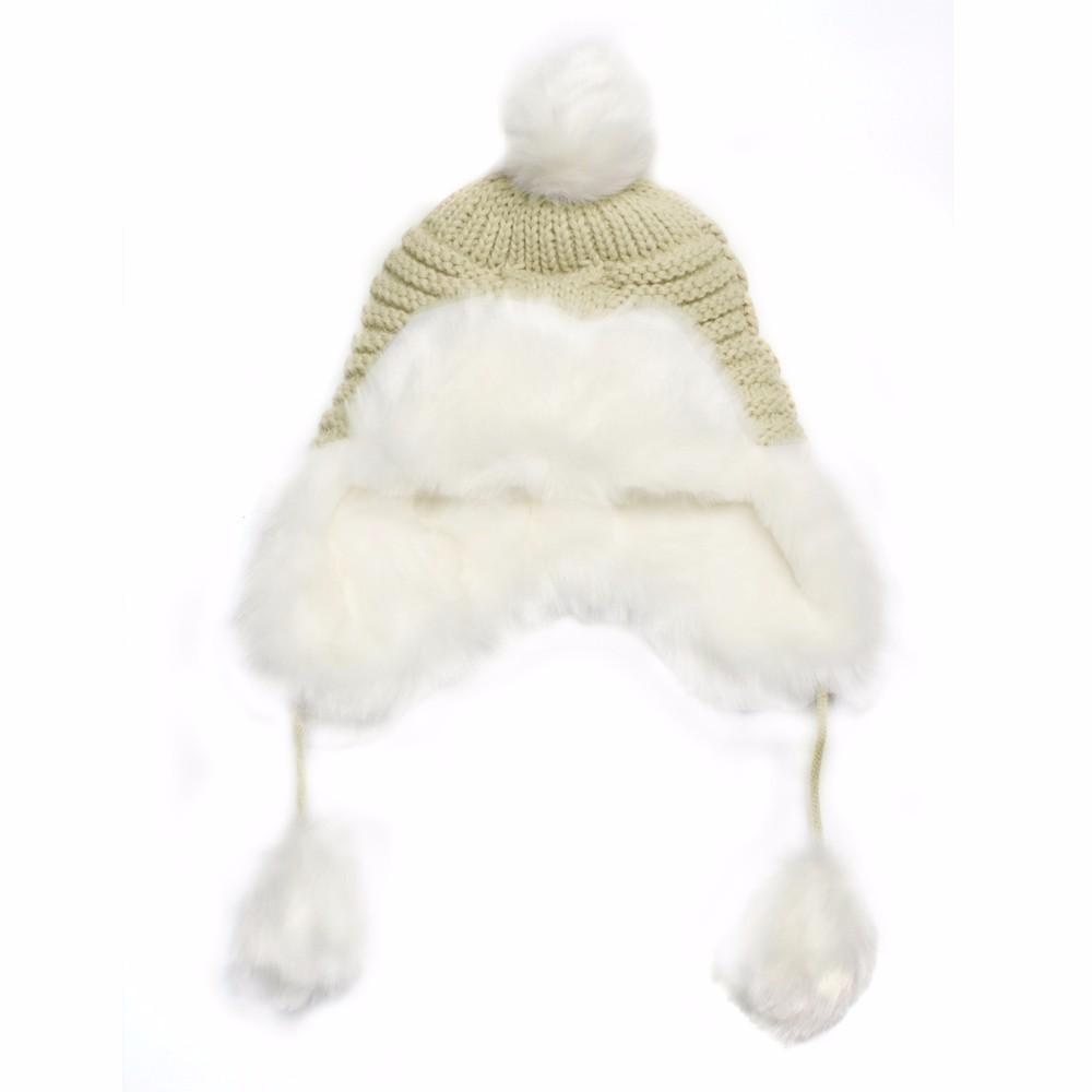 Woman Beanie Knitting Hat 2016 Happy Christmas Hats Bonnet Ladies Pompom Fur Snow Warm Skullies New Women\'s Winter Accessories (10)