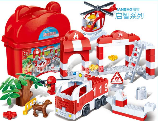 Permalink to Model Larger particles building kit compatible with legoe city fire 9639  Educational model building toys