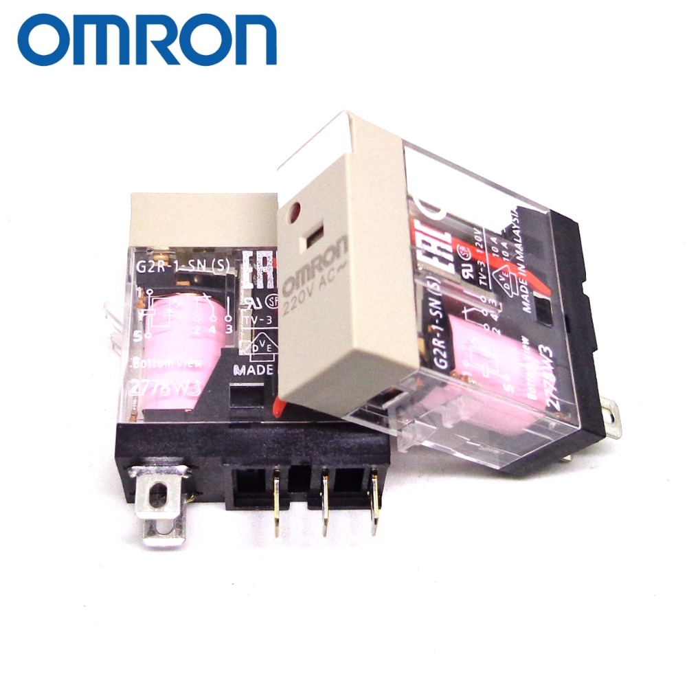 Omron P2RF-05-E Relay Socket with G2R-1-SND Relay