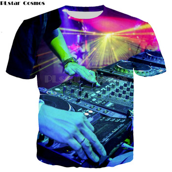 Fashion New Cool DJ picture T-shirt Men/Women 3d T shirt Print DJ Short Sleeve Summer Tops Tees T shirt unisex XS-7XL dj amira dj сергей обломов dj skydreamer cool project mary mercury abf sensation club vol 2 summer days mp3
