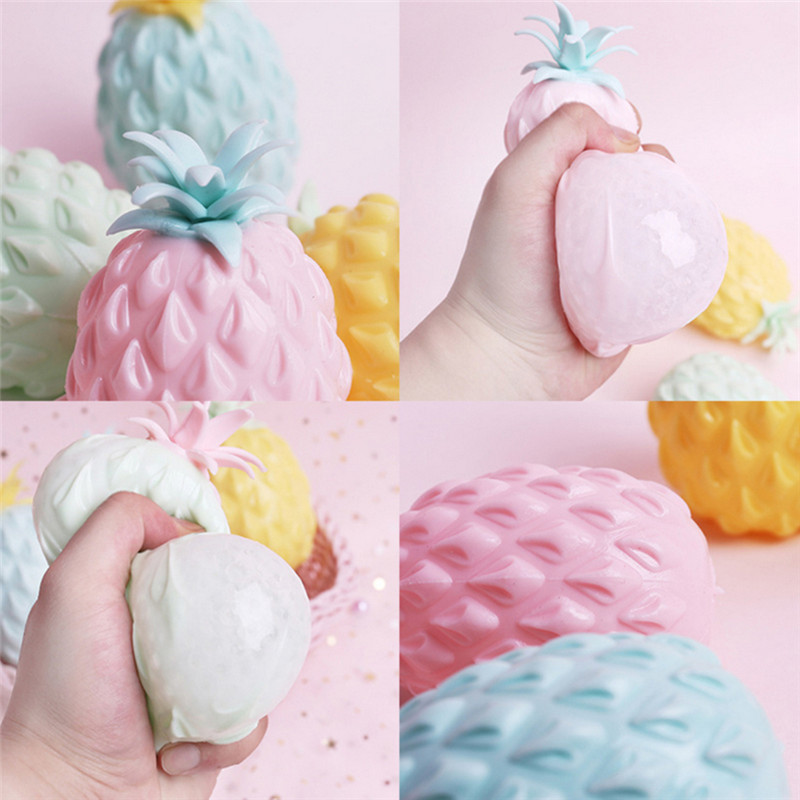 Creative Decompression Toys Novelty Toys Tricky Vent Toy Cute Pineapple Antistress Christmas Girt Kawaii Squishies Toy Wholesale