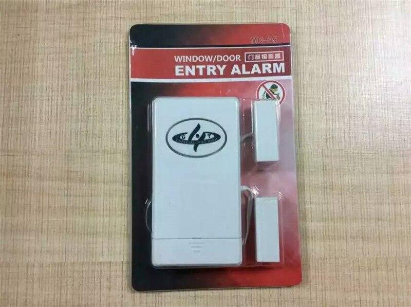 Wireless Door/Windows Sensor For Burglar Alarm System forecum 433mhz wireless magnetic door window sensor alarm detector for rolling door and roller shutter home burglar alarm system