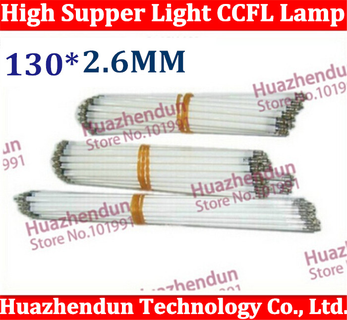 20pcs/lot Free Shipping CCFL 130mm LCD LAMPS 130*2.6 MM 13cm LCD Backlight Lamp LCD Monitors Free shipping