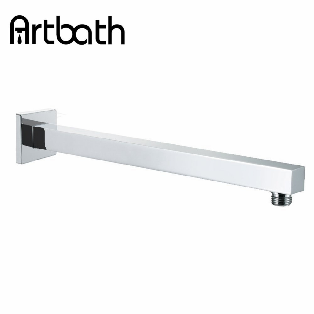 Artbath Free Shipping Bathroom Accessories 400mm Square Solid Brass ...