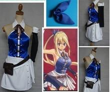 New Fairy Tail Lucy Heartfilia manga Cosplay Costume Tailor made